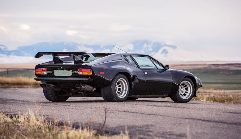 Mecum Kissimmee 2016 Preview 1987 DETOMASO PANTERA GT5-S  22