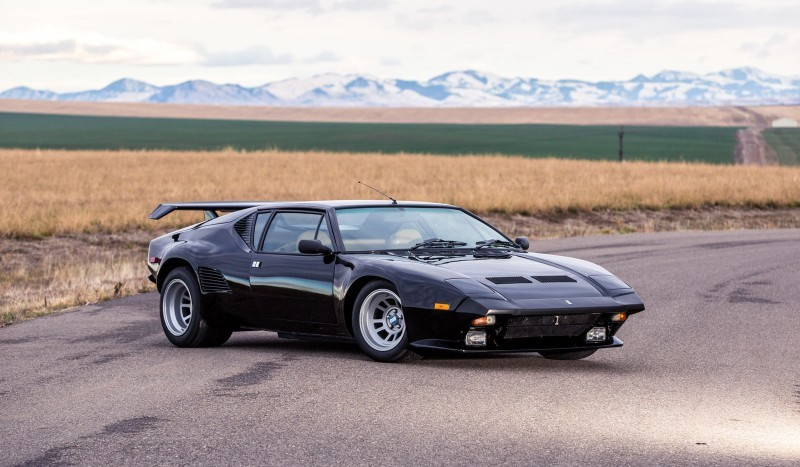 Mecum Kissimmee 2016 Preview 1987 DETOMASO PANTERA GT5-S 9