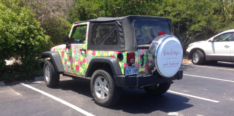 Meet the Extremely Rare, 75-Total Jeep Wrangler Lilly Pulitzer Edition 1