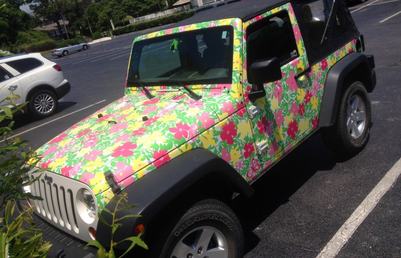 Meet the Extremely Rare, 75-Total Jeep Wrangler Lilly Pulitzer Edition 12