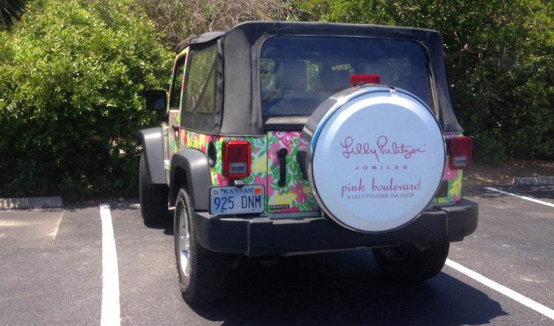 Meet the Extremely Rare, 75-Total Jeep Wrangler Lilly Pulitzer Edition 2