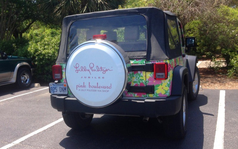 Meet the Extremely Rare, 75-Total Jeep Wrangler Lilly Pulitzer Edition 3