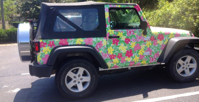 Meet the Extremely Rare, 75-Total Jeep Wrangler Lilly Pulitzer Edition 5