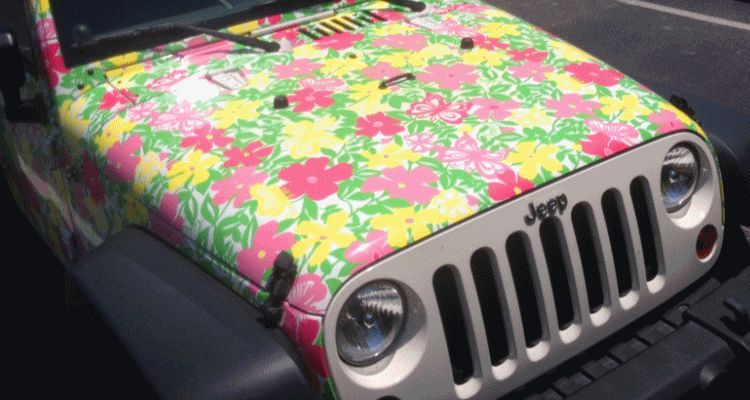 Meet the Extremely Rare, 75-Total Jeep Wrangler Lilly Pulitzer Edition GIF
