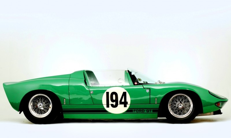 Meet the Original 1964 Ford GT40 Concept and 1965 GT40 Roadster Prototype 13