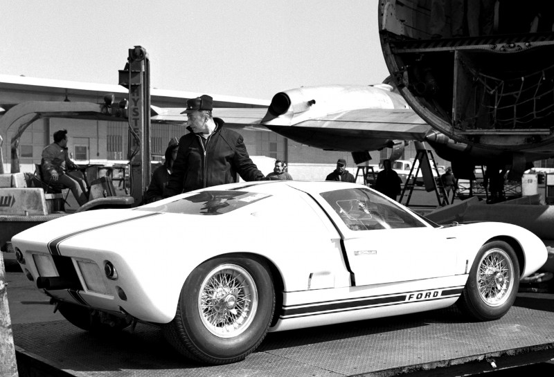 Meet the Original 1964 Ford GT40 Concept and 1965 GT40 Roadster Prototype 23