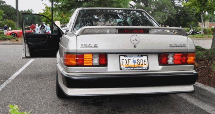 Mercedes 190E 2.3-16 Cosworth GIF