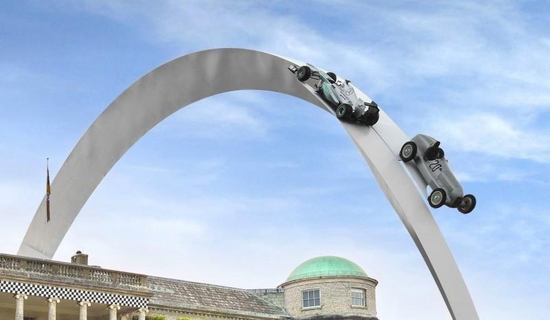 Mercedes-Benz 2014 Goodwood Sculpture Is Huge, But Predictably Joyless 12