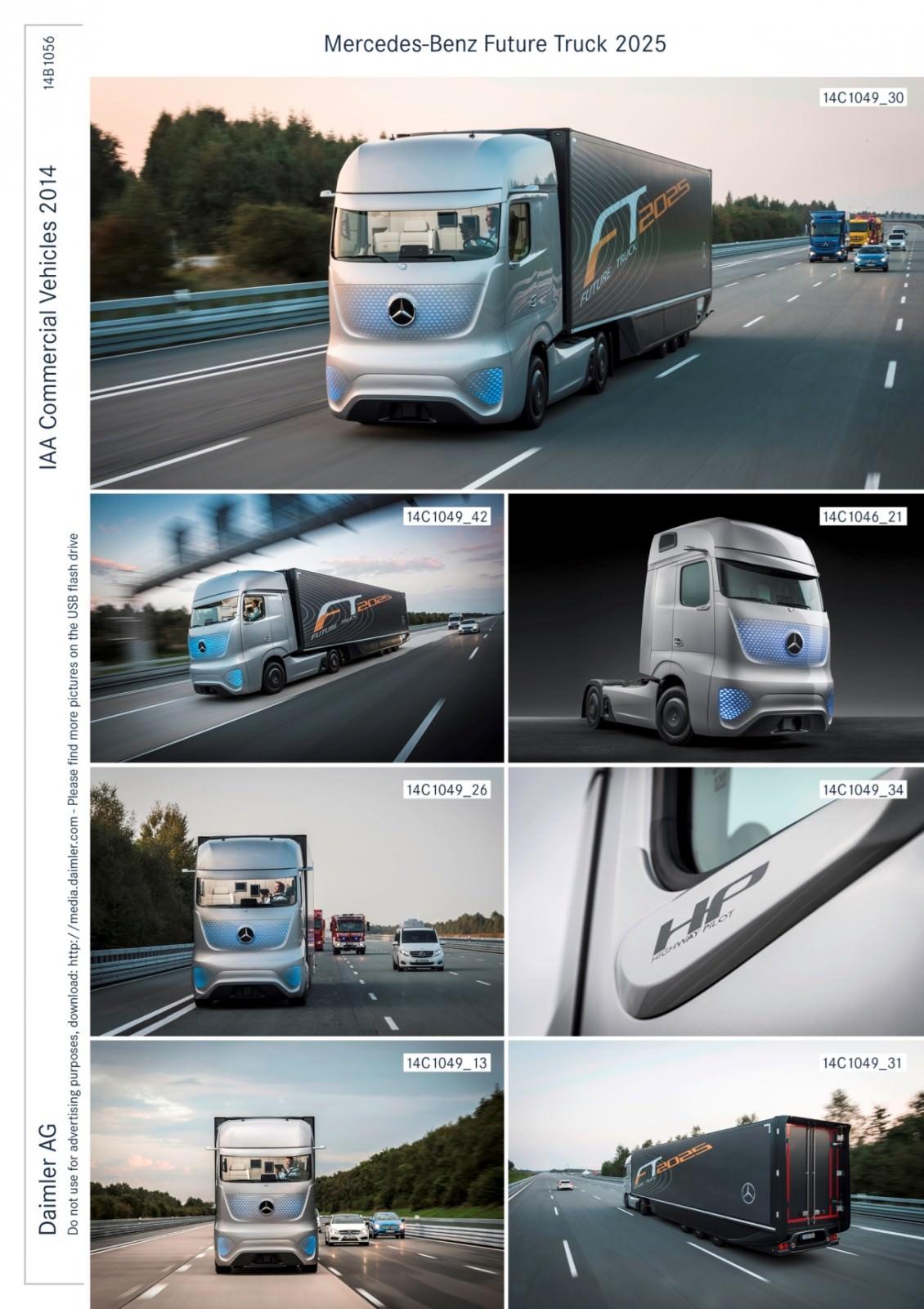 Mercedes benz ft2025 is daimler trucks new tech flagship 2 for Mercedes benz flagship car