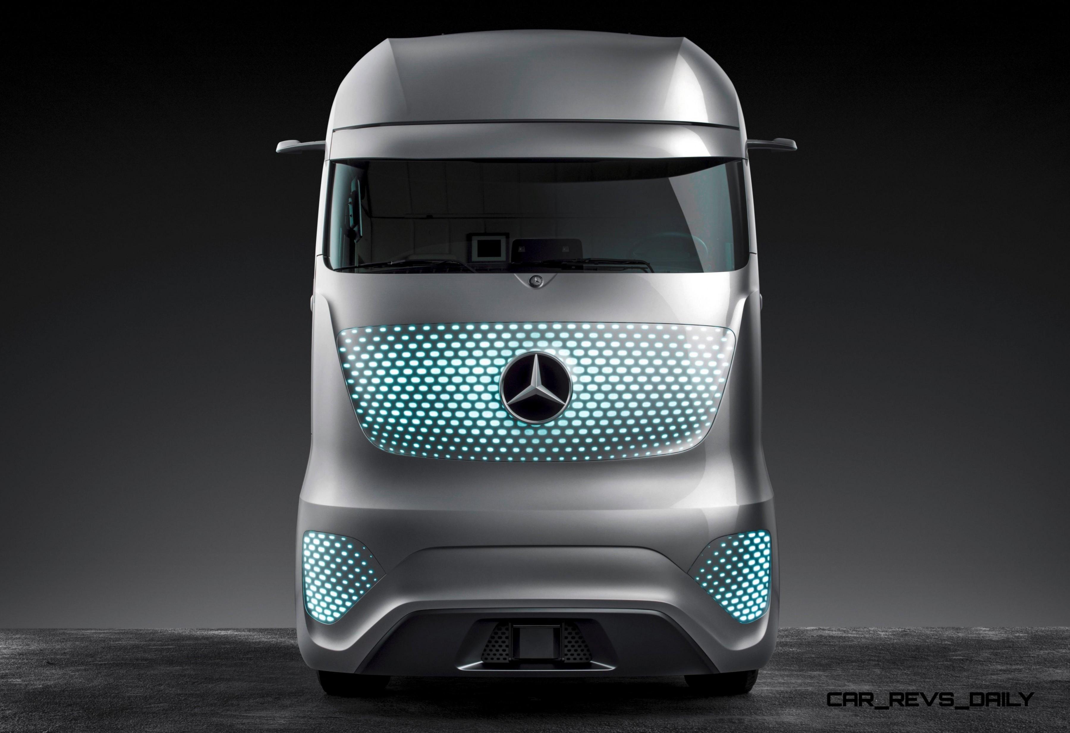 Mercedes Benz Ft2025 Is New Daimler Trucks Flagship