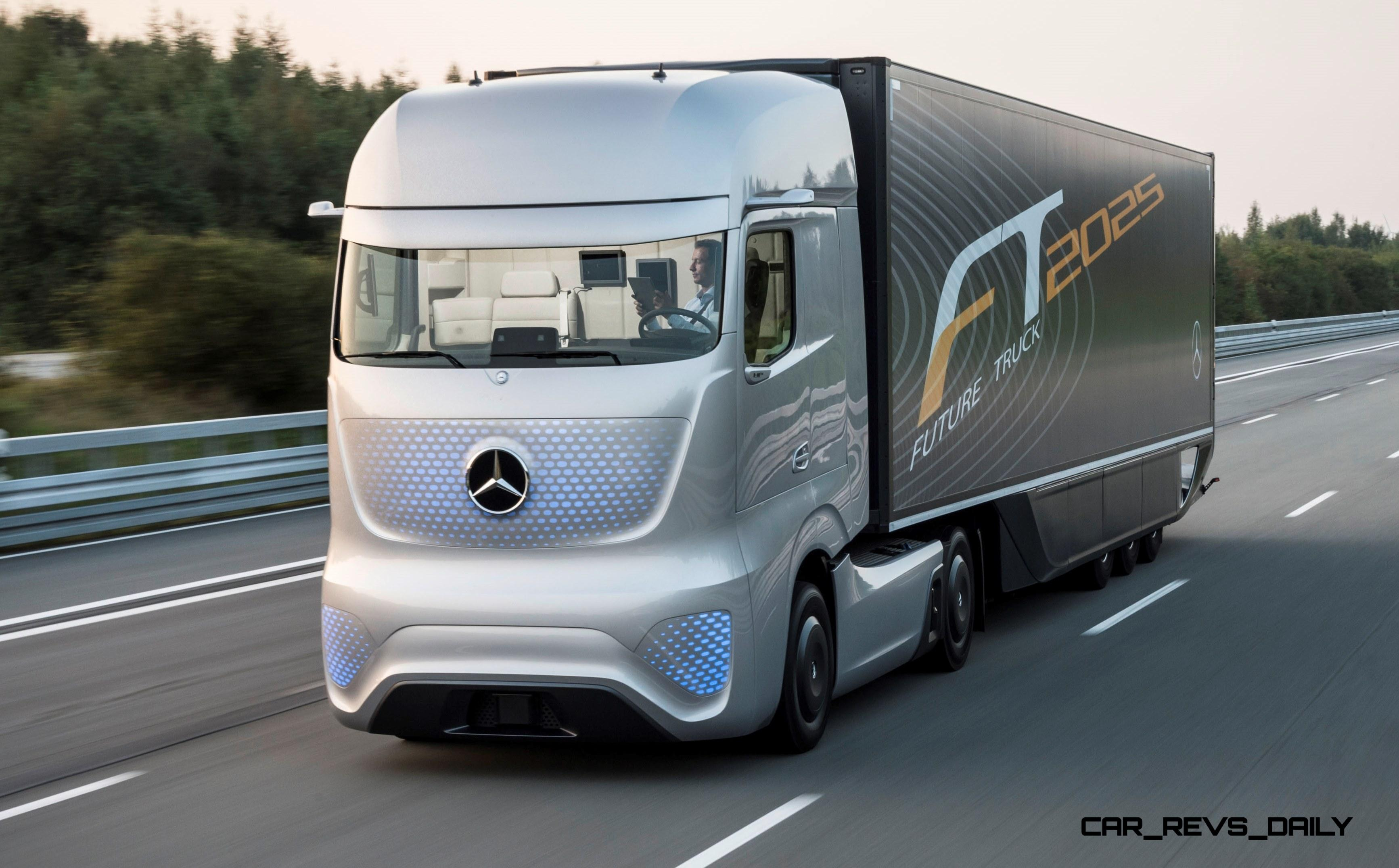 Mercedes Benz Ft2025 Is New Daimler Trucks Flagship