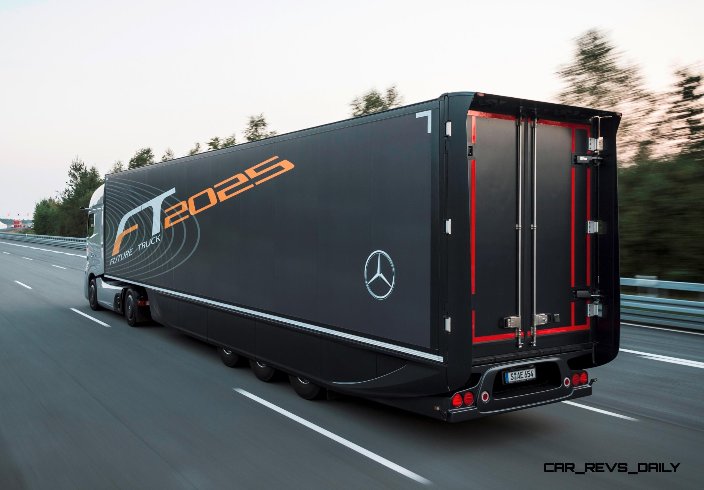 2025: Mercedes-Benz FT2025 Is New Daimler Trucks Flagship