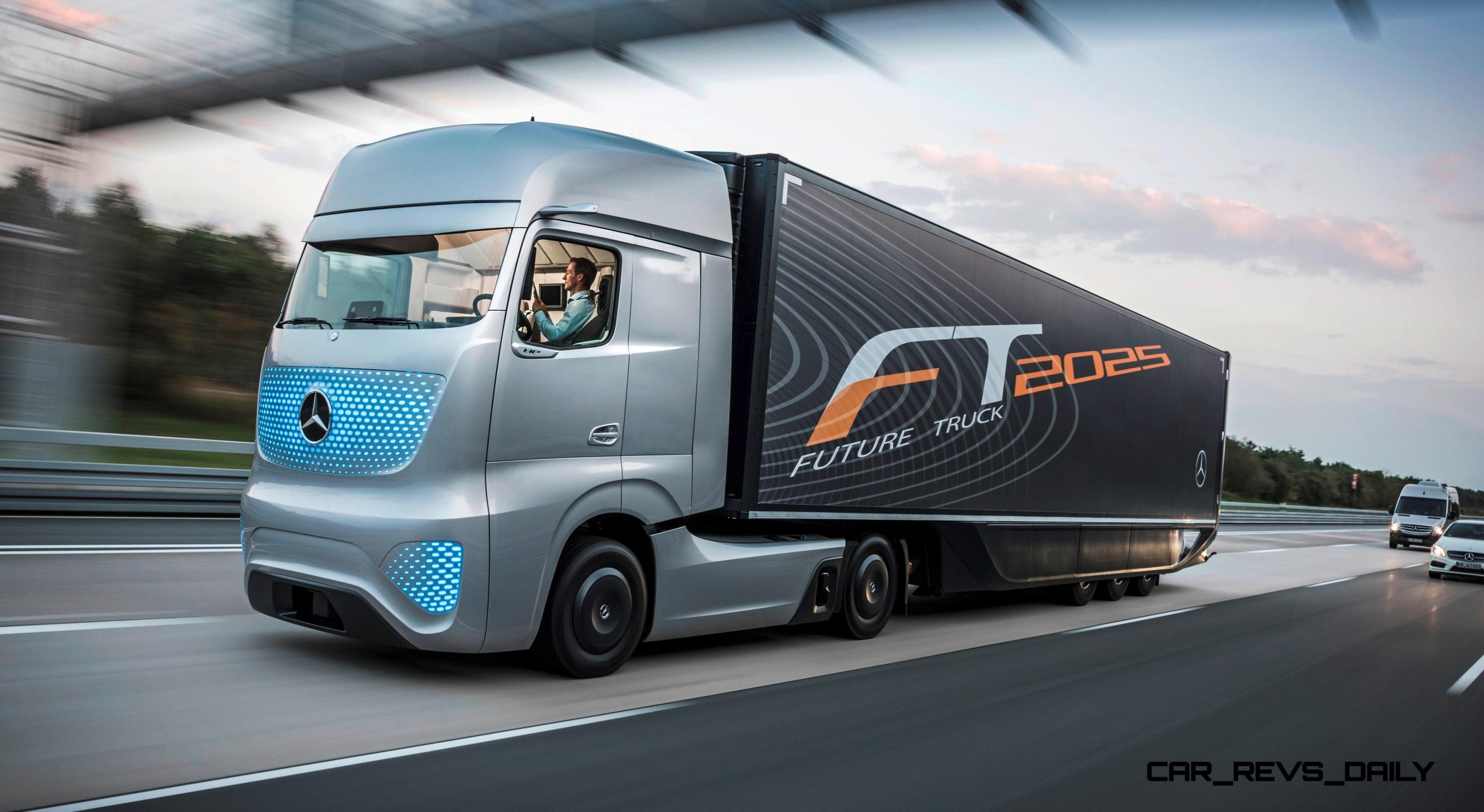 Mercedes-Benz FT2025 Is New Daimler Trucks Flagship