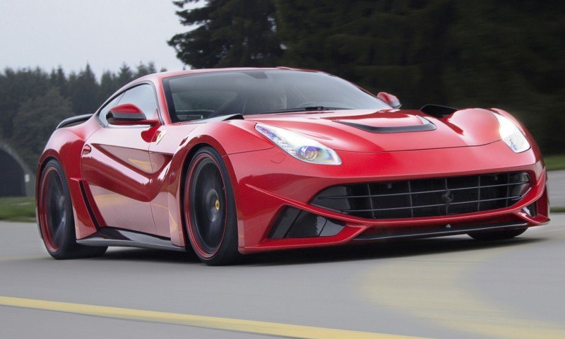 N Largo Ferrari F12 Widebody by NOVITEC ROSSO Is Unbelievably Hardcore Upgrade Package 20