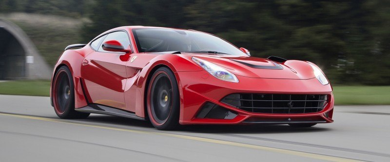 N Largo Ferrari F12 Widebody by NOVITEC ROSSO Is Unbelievably Hardcore Upgrade Package 21