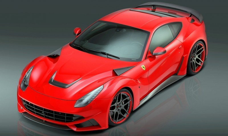N Largo Ferrari F12 Widebody by NOVITEC ROSSO Is Unbelievably Hardcore Upgrade Package 4