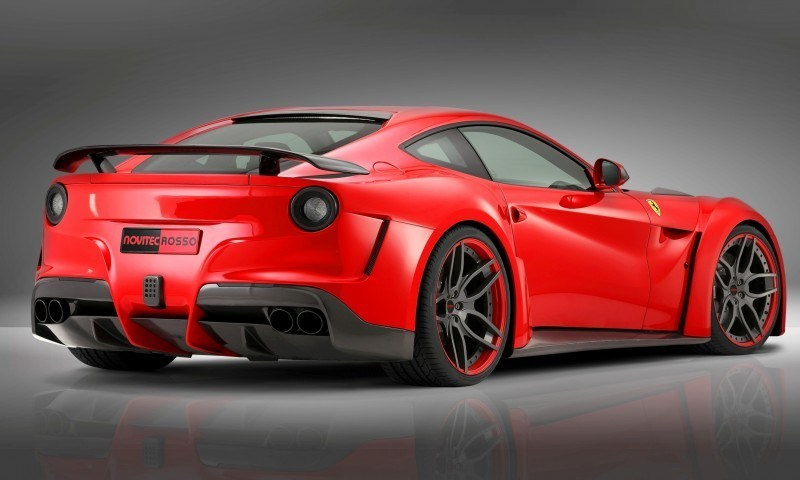 N Largo Ferrari F12 Widebody by NOVITEC ROSSO Is Unbelievably Hardcore Upgrade Package 6