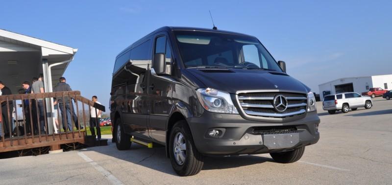 new 2014 mercedes benz sprinter vans in real life 2015 4x4. Black Bedroom Furniture Sets. Home Design Ideas