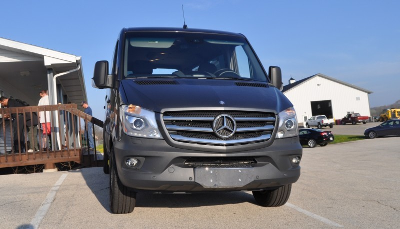 New 2014 Mercedes-Benz Sprinter Vans in Real Life + 2015 4x4 Model Details 2