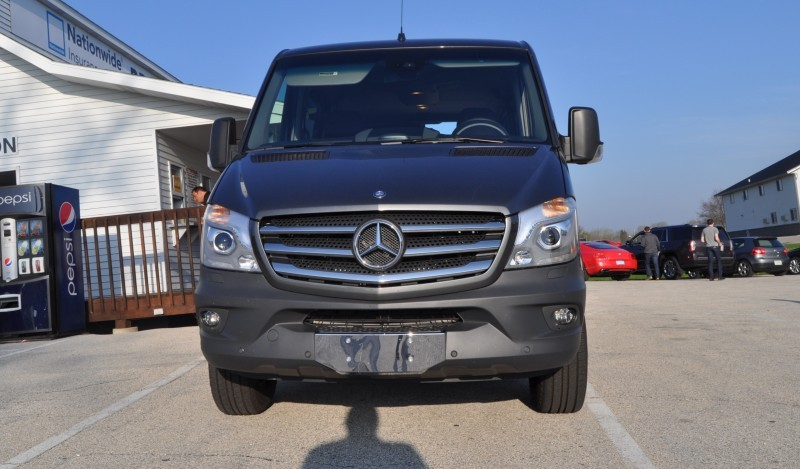 New 2014 Mercedes-Benz Sprinter Vans in Real Life + 2015 4x4 Model Details 3