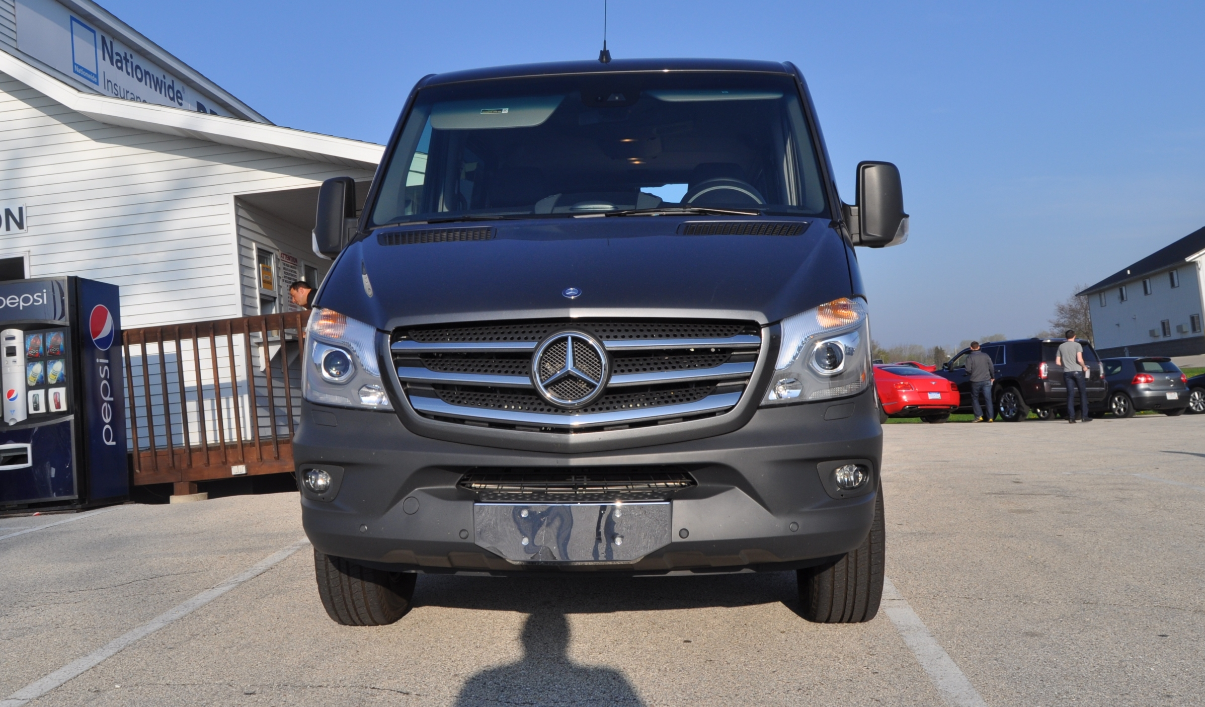 New 2014 Mercedes Benz Sprinter Vans In Real Life 2015 4x4 Model Details 3