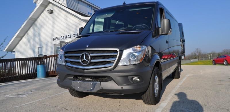 New 2014 Mercedes-Benz Sprinter Vans in Real Life + 2015 4x4 Model Details 4