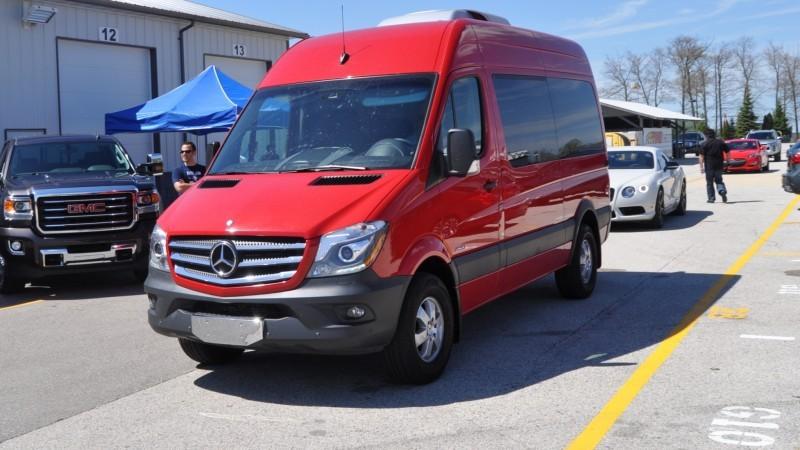 New 2014 Mercedes-Benz Sprinter Vans in Real Life + 2015 4x4 Model Details 7