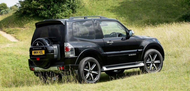 New Mitsubishi Shogun SWB Barbarian for UK Will Make You Miss The Montero 24