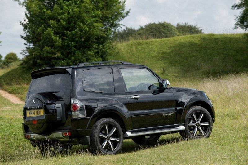 New Mitsubishi Shogun SWB Barbarian for UK Will Make You Miss The Montero 26