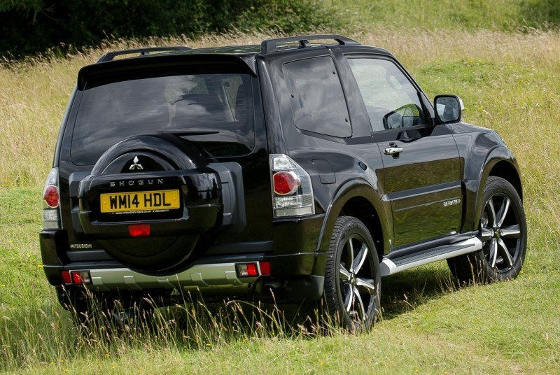 New Mitsubishi Shogun SWB Barbarian for UK Will Make You Miss The Montero 27