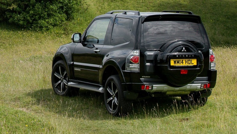 New Mitsubishi Shogun SWB Barbarian for UK Will Make You Miss The Montero 29