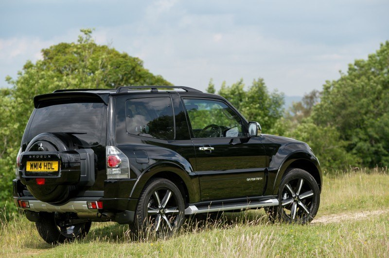 New Mitsubishi Shogun SWB Barbarian for UK Will Make You Miss The Montero 33