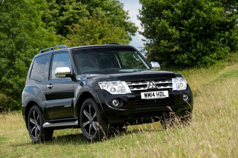 New Mitsubishi Shogun SWB Barbarian for UK Will Make You Miss The Montero 41