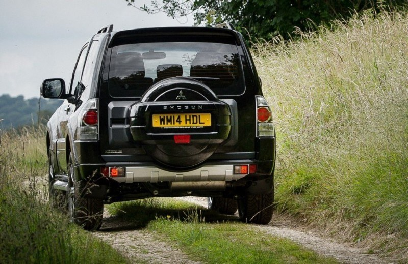 New Mitsubishi Shogun SWB Barbarian for UK Will Make You Miss The Montero 52