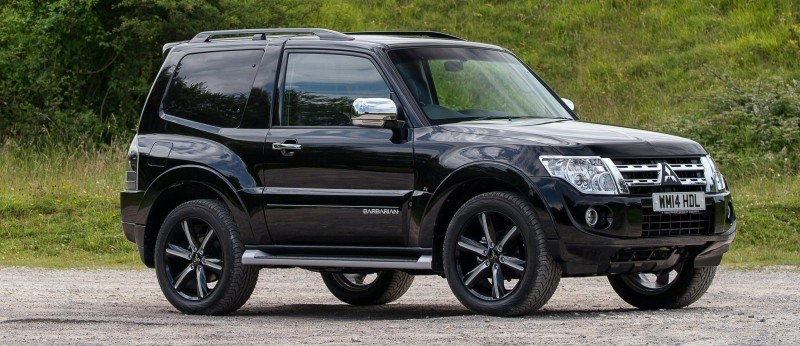 New Mitsubishi Shogun SWB Barbarian for UK Will Make You Miss The Montero 66