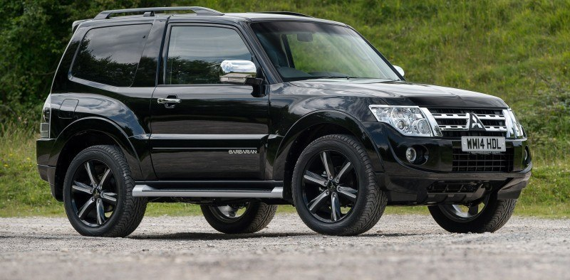 New Mitsubishi Shogun SWB Barbarian for UK Will Make You Miss The Montero 67