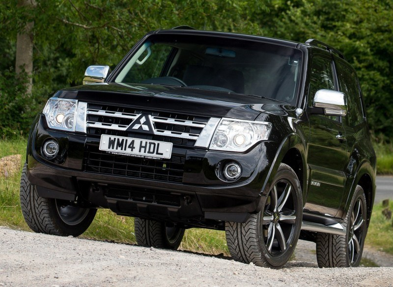 New Mitsubishi Shogun SWB Barbarian for UK Will Make You Miss The Montero 78