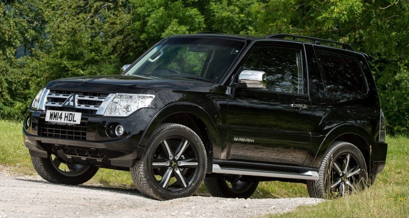 New Mitsubishi Shogun SWB Barbarian for UK Will Make You Miss The Montero 79