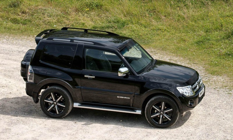 New Mitsubishi Shogun SWB Barbarian for UK Will Make You Miss The Montero 80