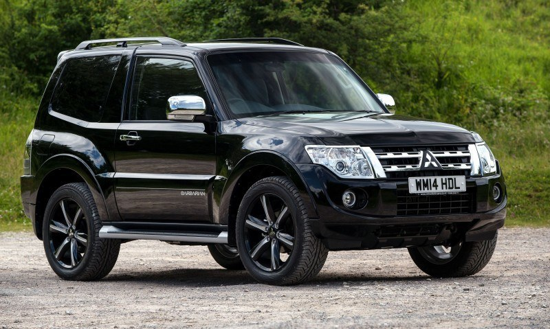 New Mitsubishi Shogun SWB Barbarian for UK Will Make You Miss The Montero 83