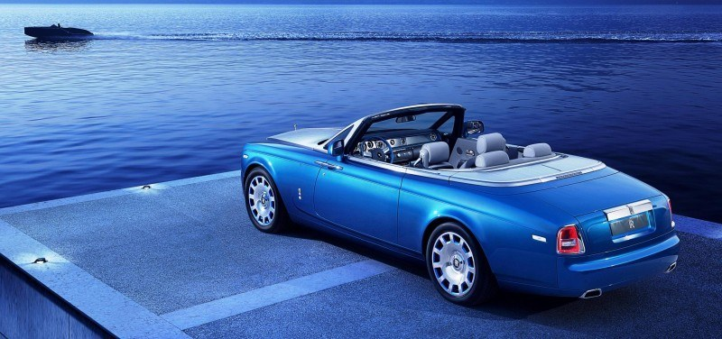 New Rolls-Royce Phantom Drophead Coupe Waterspeed Celebrates Bluebird K3 Record-Breaker 15