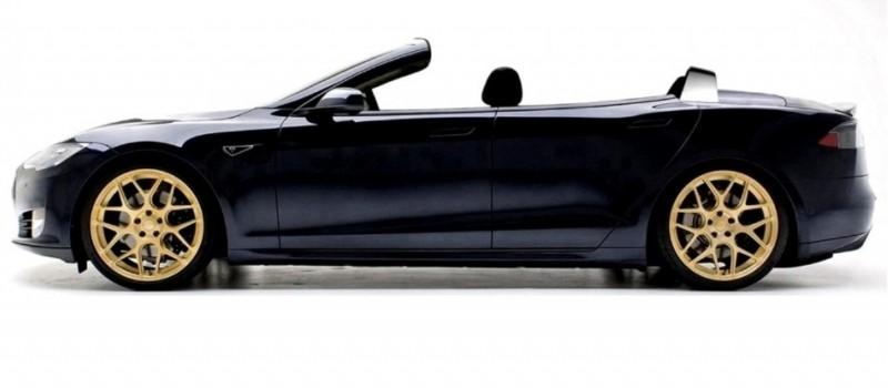 Newport Convertible Engineering TESLA MODEL S CABRIO 3