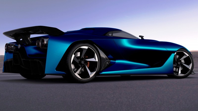 NewsBrief - Nissan NC2020 Vision Gran Turismo in Nine New Colors 1