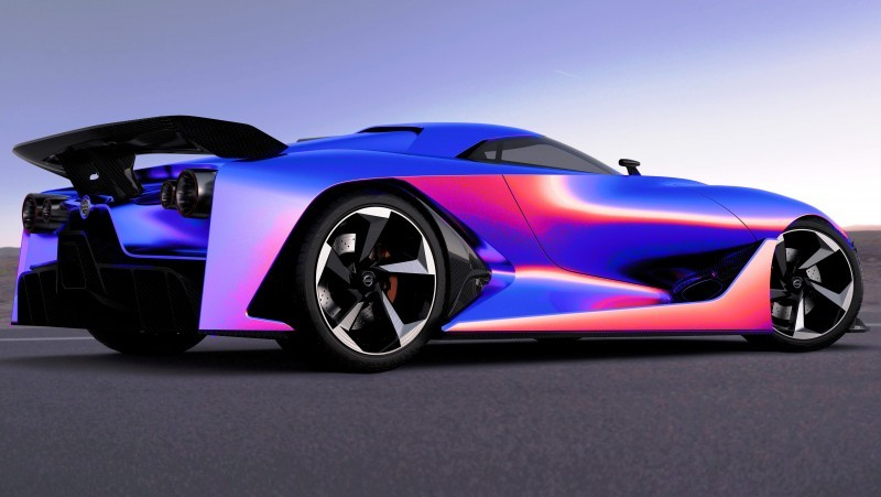 NewsBrief - Nissan NC2020 Vision Gran Turismo in Nine New Colors 3