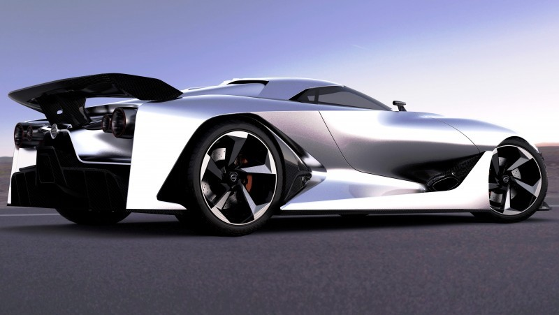 NewsBrief - Nissan NC2020 Vision Gran Turismo in Nine New Colors 4