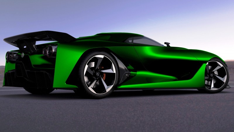 NewsBrief - Nissan NC2020 Vision Gran Turismo in Nine New Colors 5