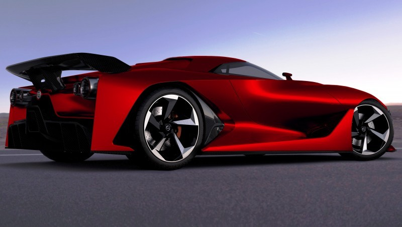 NewsBrief - Nissan NC2020 Vision Gran Turismo in Nine New Colors 6