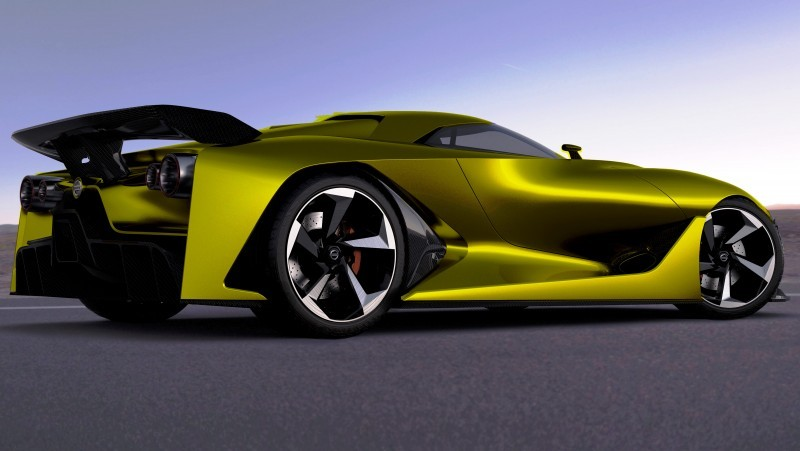 NewsBrief - Nissan NC2020 Vision Gran Turismo in Nine New Colors 7