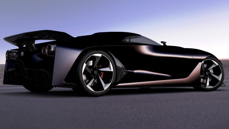 NewsBrief - Nissan NC2020 Vision Gran Turismo in Nine New Colors 9