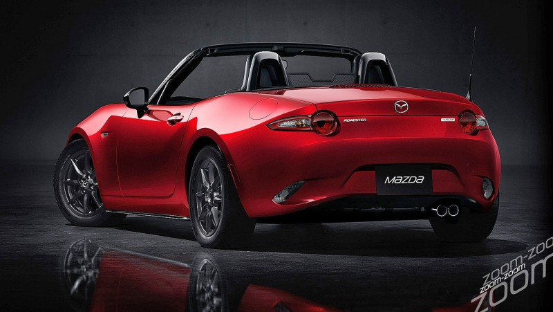 Next-Gen 2016 Mazda MX-5 First Look Shows Lean New Design 10
